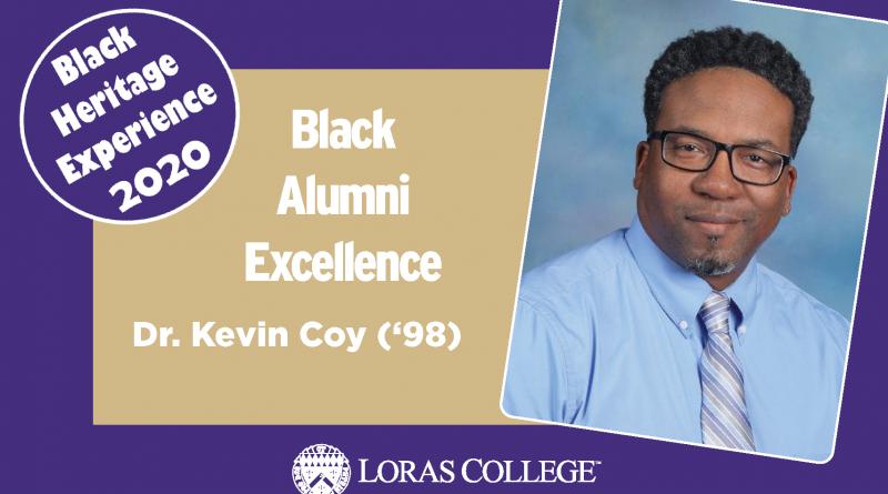 Black Heritage Experience Alumni Focus: Dr. Kevin Coy