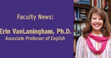 VanLaningham Named Director of NetVUE Scholarly Resources Project