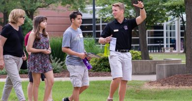 Campus Reopens to Welcome Prospective Students