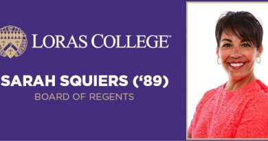 Sarah Squiers ('89) Named to Loras Board of Regents