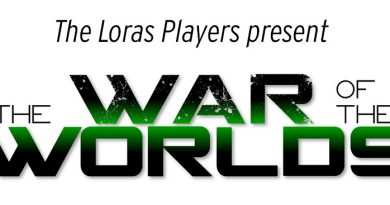 Loras Players Prepare for 'The War of the Worlds'
