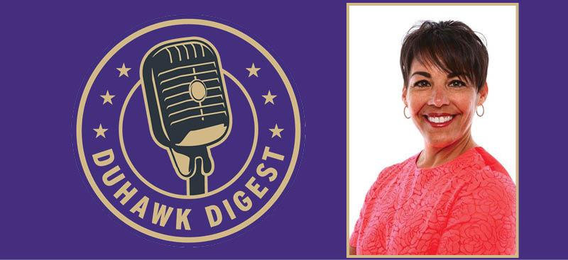 Duhawk Digest   Sarah Squiers ('89)