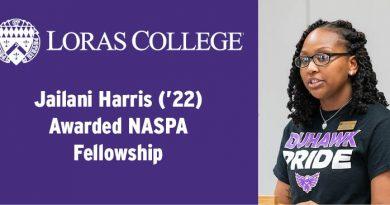 Jailani Harris ('22) Awarded NASPA Fellowship